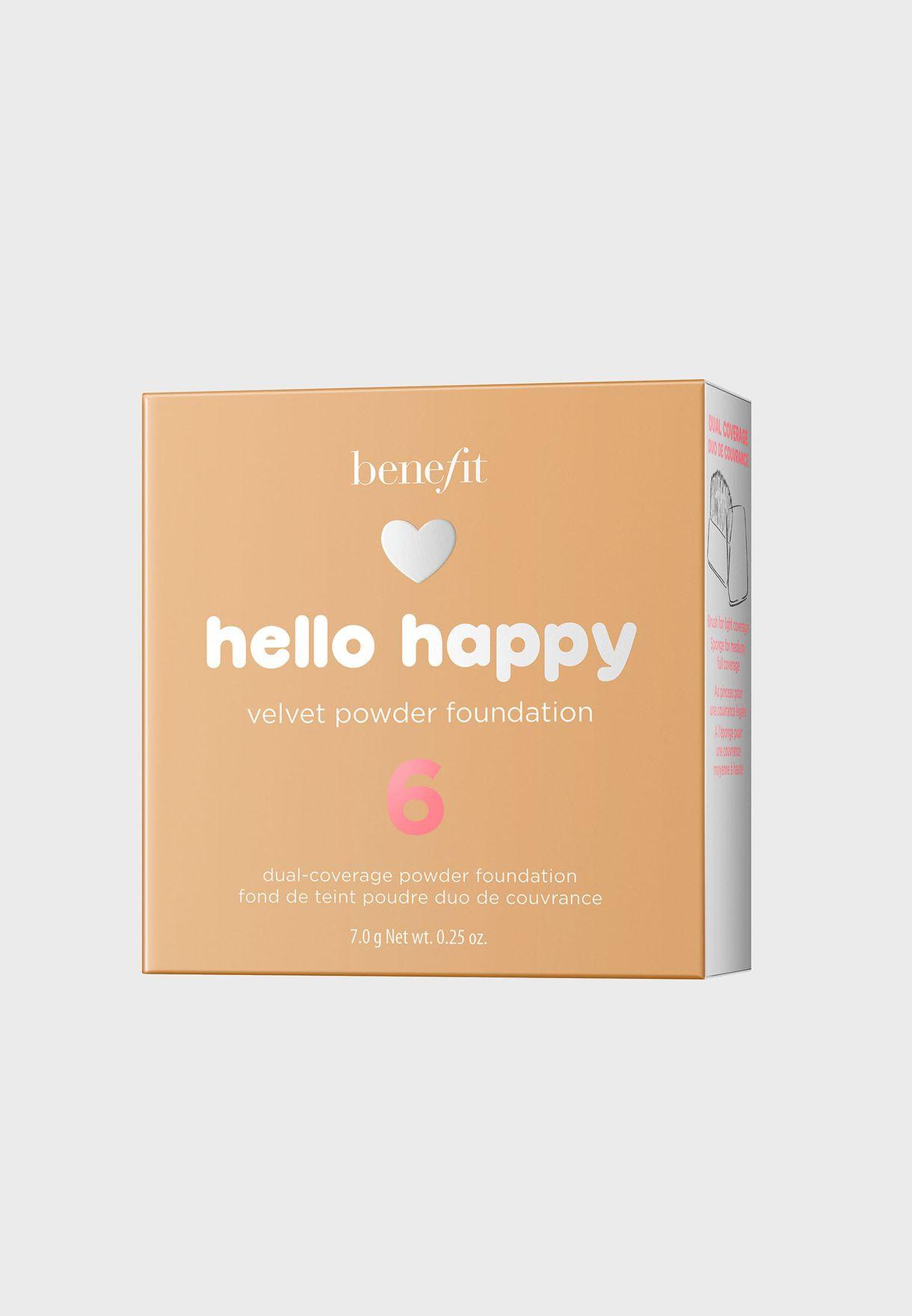 Hello Happy Velvet Powder Foundation -06