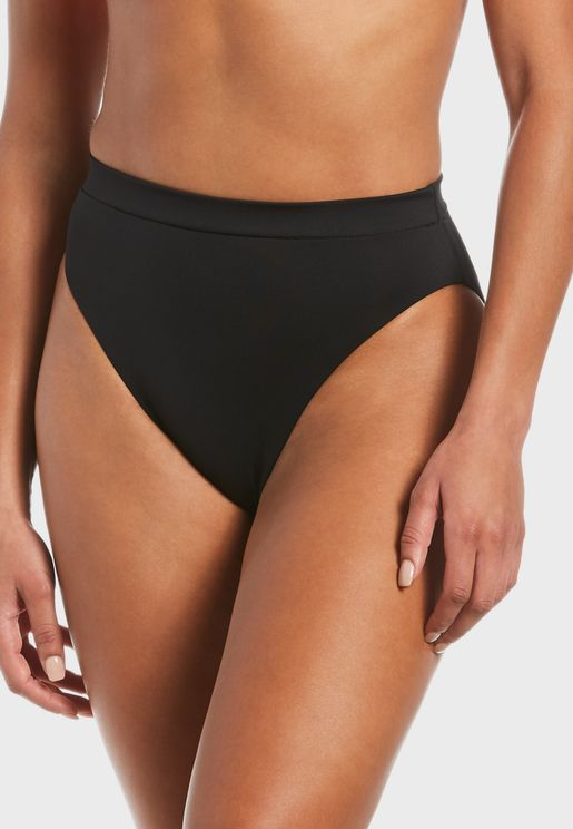 Essential High Waist Bikini Bottom