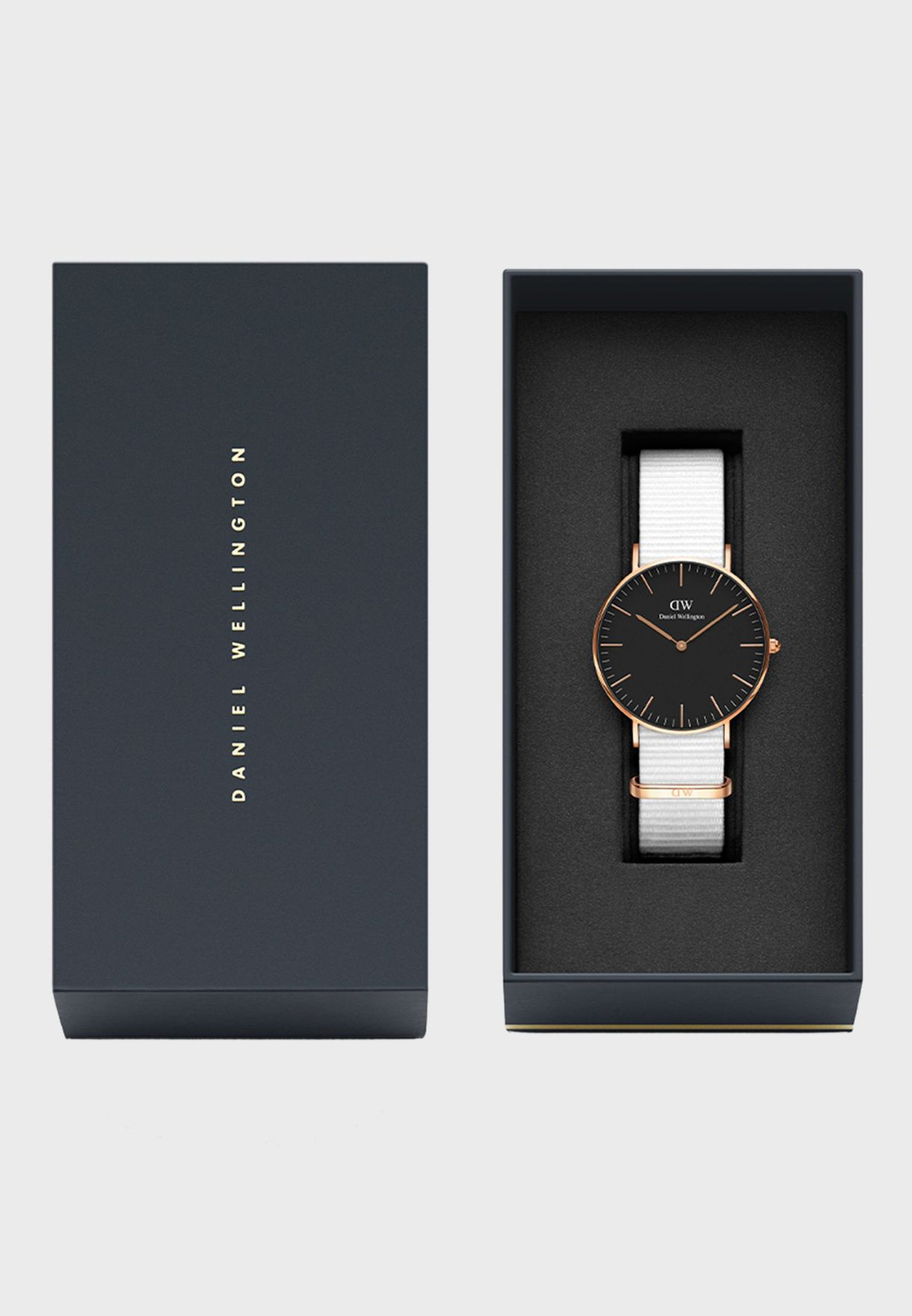 Classic Dover Black 36mm Watch