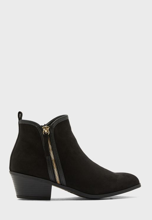 Bella  High Heel Ankle Boot