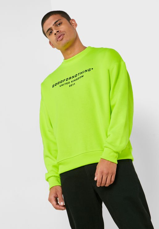 Oversized Logo Sweatshirt