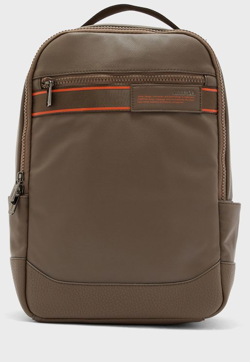 Bastian Front Zip Backpack
