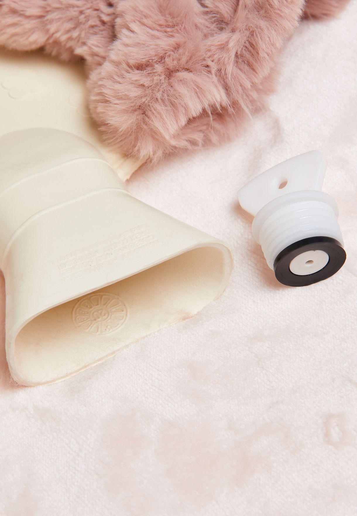 Faux Fur Long Hot Water Bottle- 2L