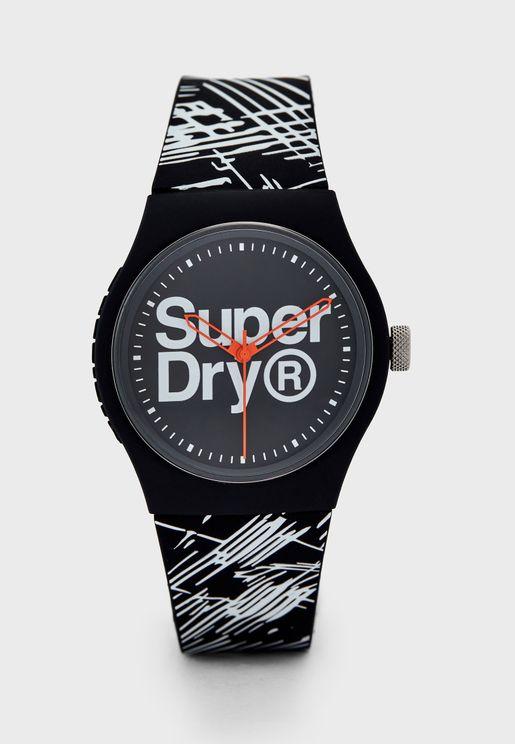T SDWSYG292WB Urban Etch Watch