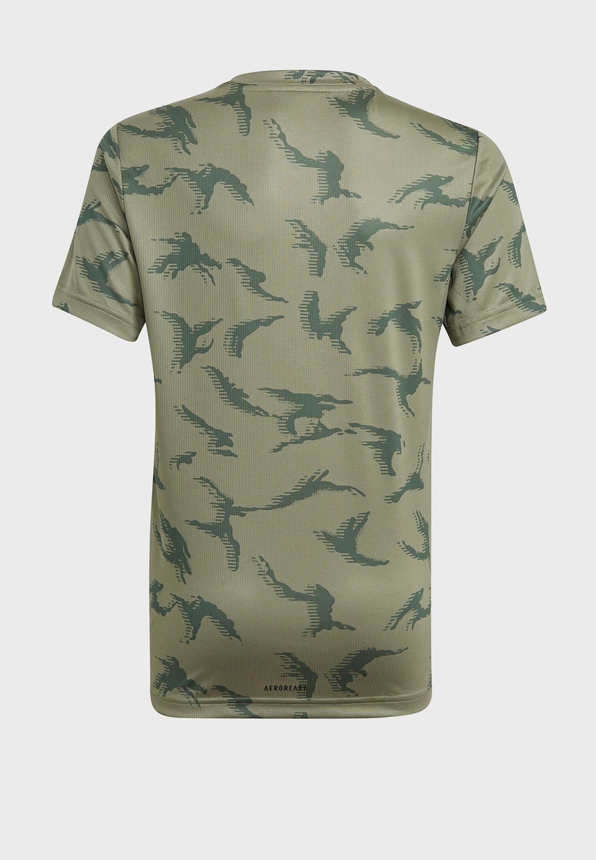 Youth Camo T-Shirt