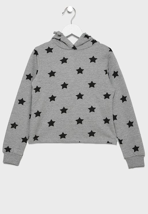 هودي بطباعة نجوم للاطفال