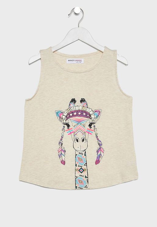 Teen Camel Tank Top