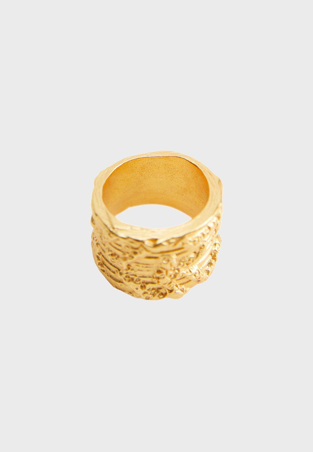 John Embossed Ring