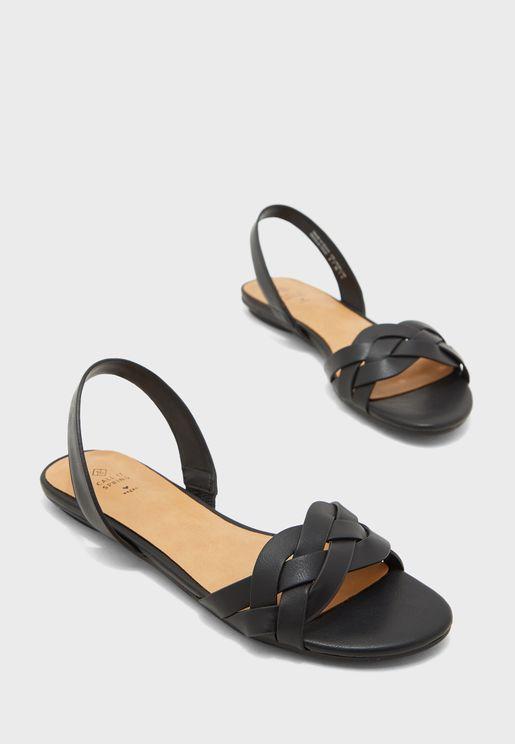 Firella Slingback Flat Sandal
