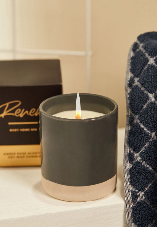 Glaze Amber Rose Scented Candle