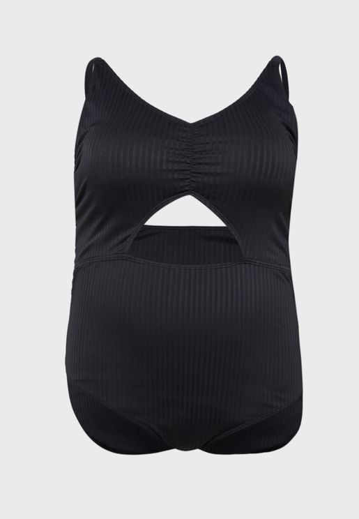 Ruched Front Swimsuit
