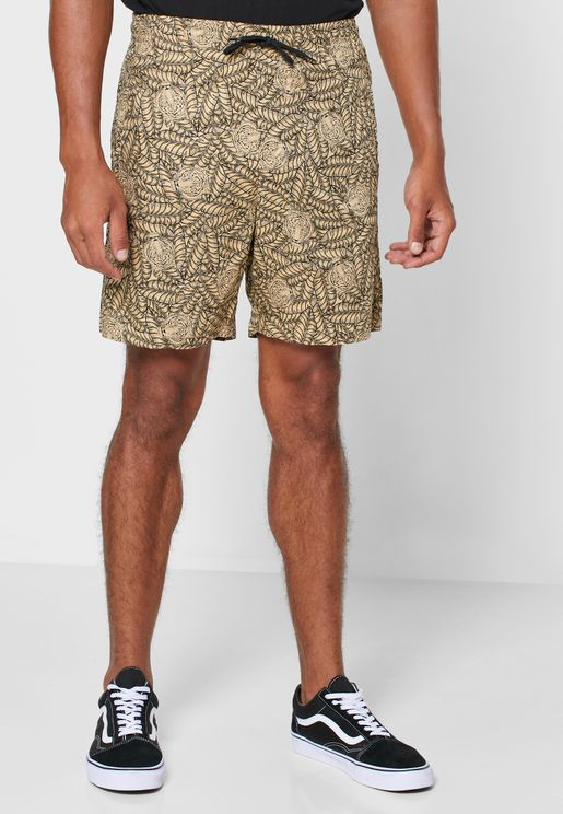 Gabrial Animal Print Shorts