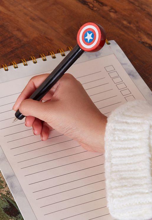 Captain America Shield Pen