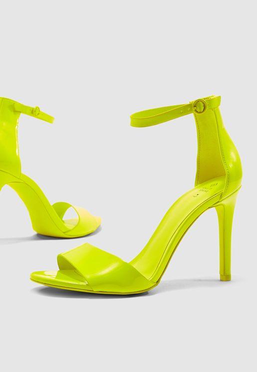 Dellmar Heel Sandal - Neon