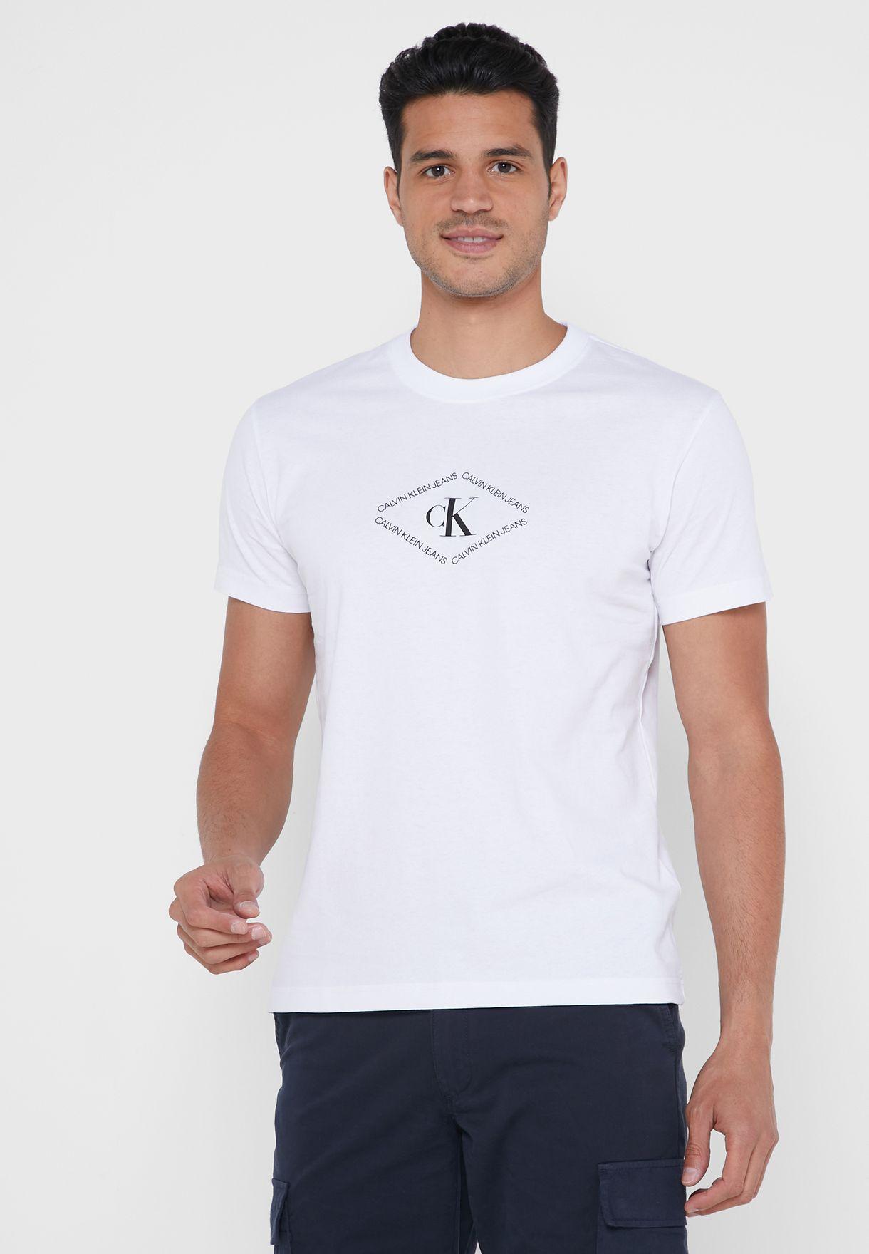 Skate Back Graphic Crew Neck T-Shirt