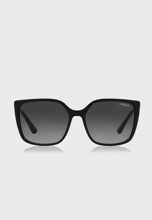0Vo5353S Oversized Sunglasses