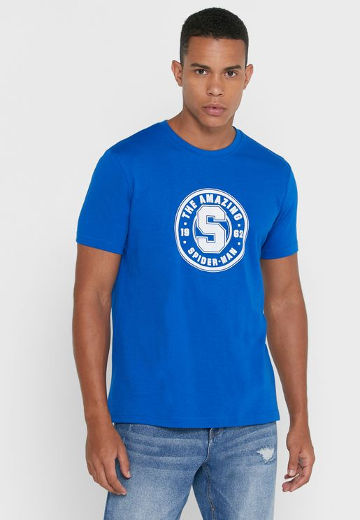 The Amazing Spiderman Crew Neck T-Shirt