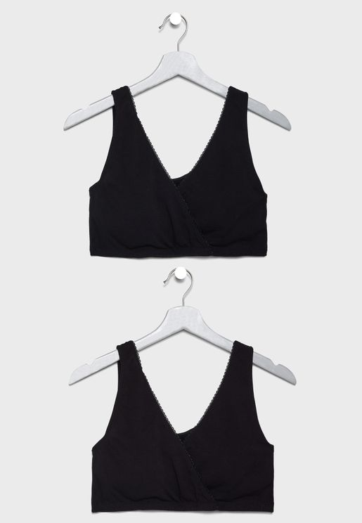 2 Pack Maternity & Nursing Bra