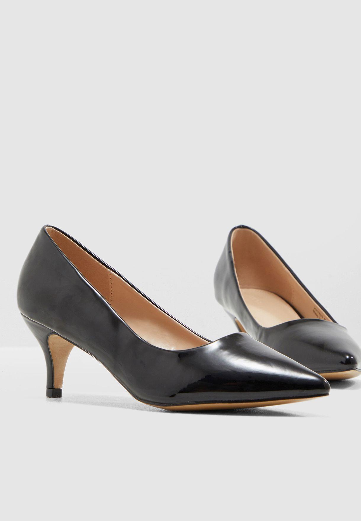 b64188af3af64 تسوق حذاء كلاسيكي ماركة لون أسود 2087889 9185A3 في السعودية ...
