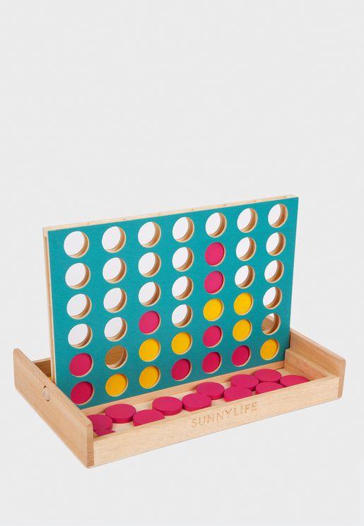 لعبة تركيب خشبية