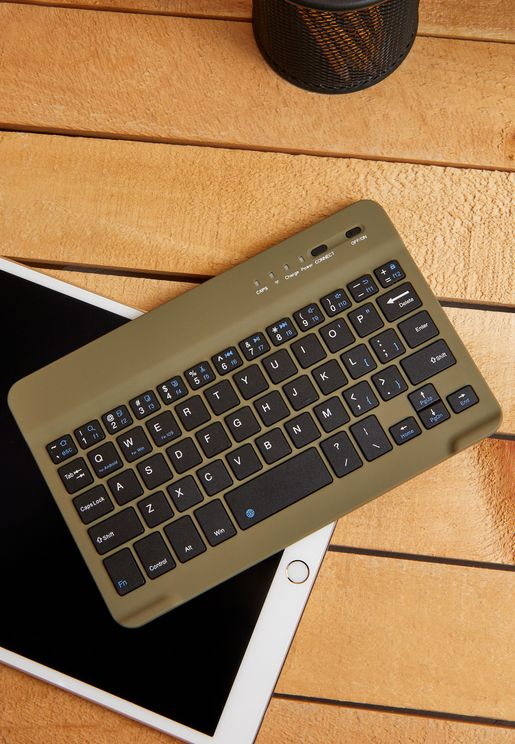 Khaki Wireless Keyboard