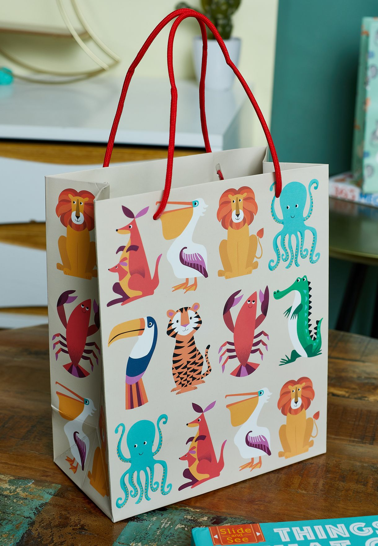 Small Colourful Creatures Gift Bag