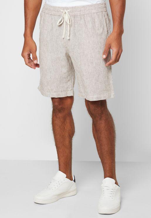 "9"" Micro Stripe Shorts"