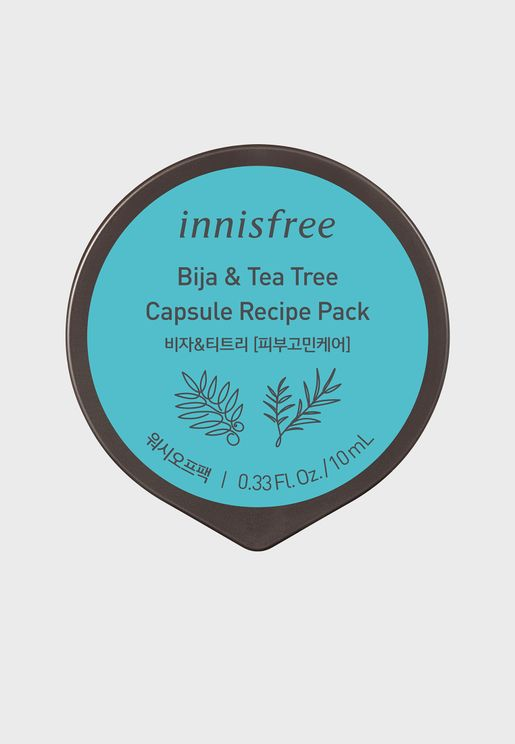 Bija & Tea Tree Capsule Recipe Pack 10ml