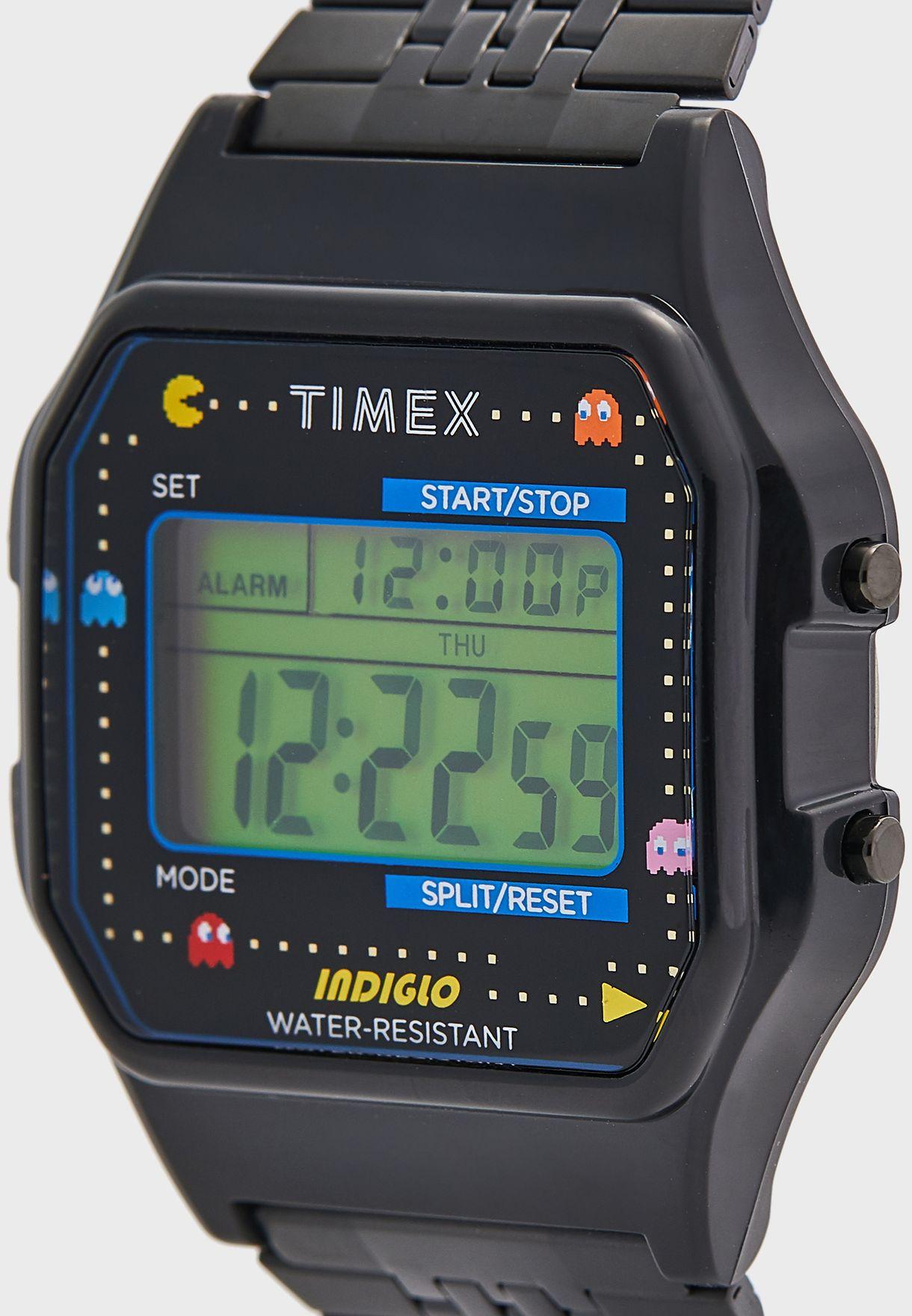 Pac-Man Digital Watch