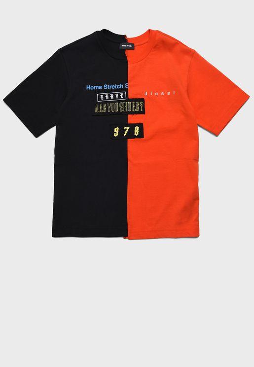 Kids Colour Block T-Shirt