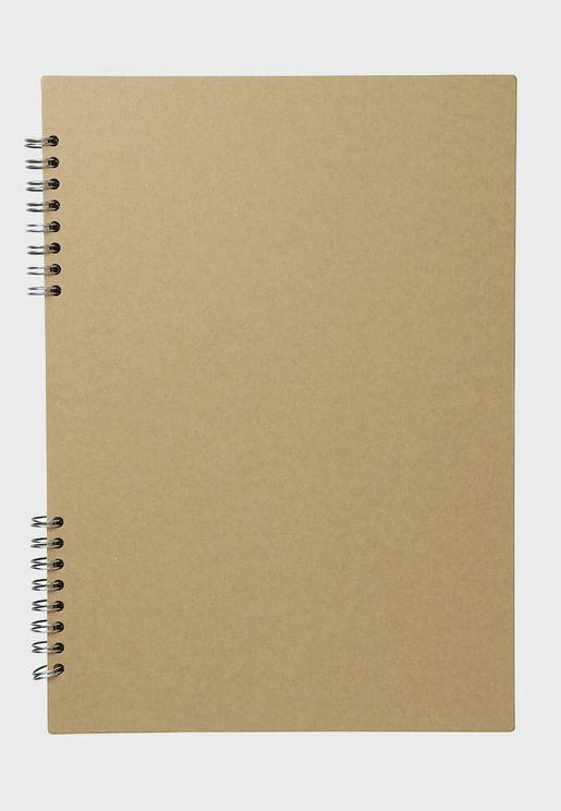 Kraft Scrap Book