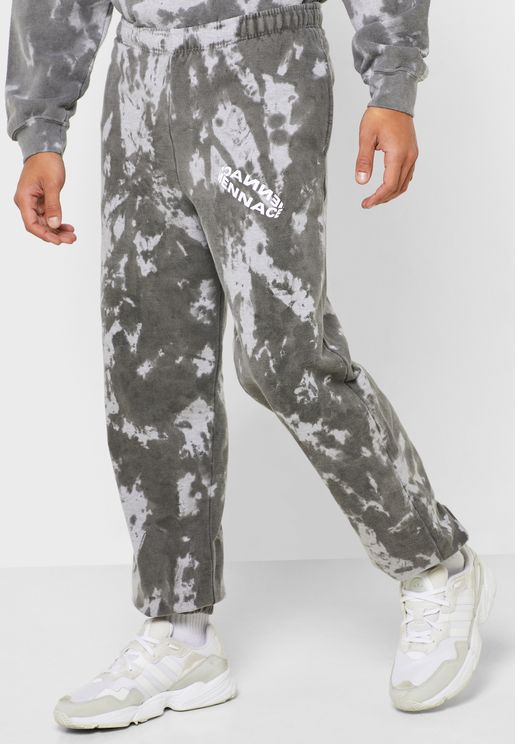 Rotation Print Tie Dye Sweatpants
