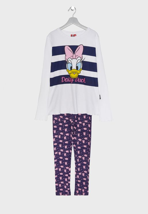 Kids Daisy Duck Pyjama Set