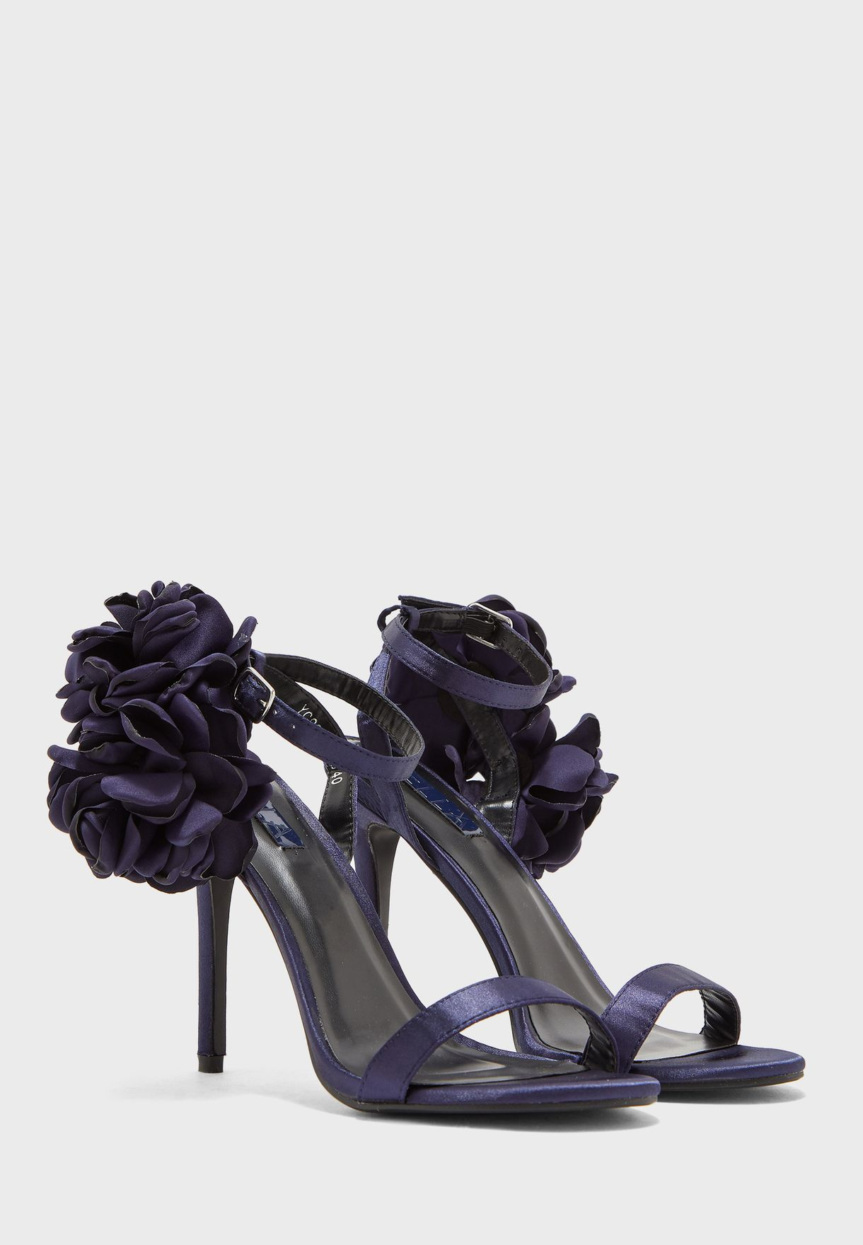 Ella Limited Edition Corsage Sandals - Brand Shoes