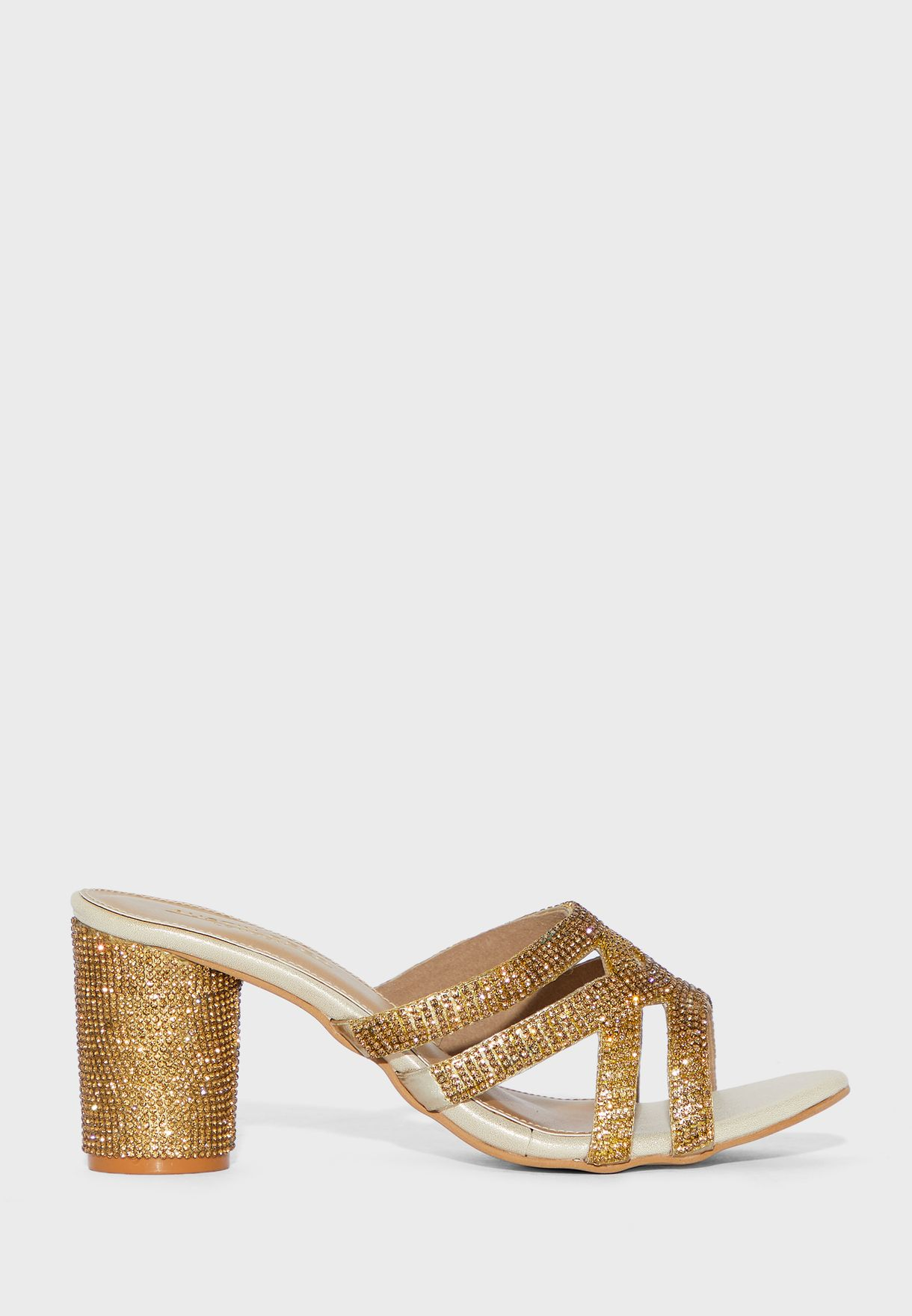 Buy Austin Reed Gold Multi Strap High Heel Sandal For Women In Mena Worldwide Aulhhs45dff
