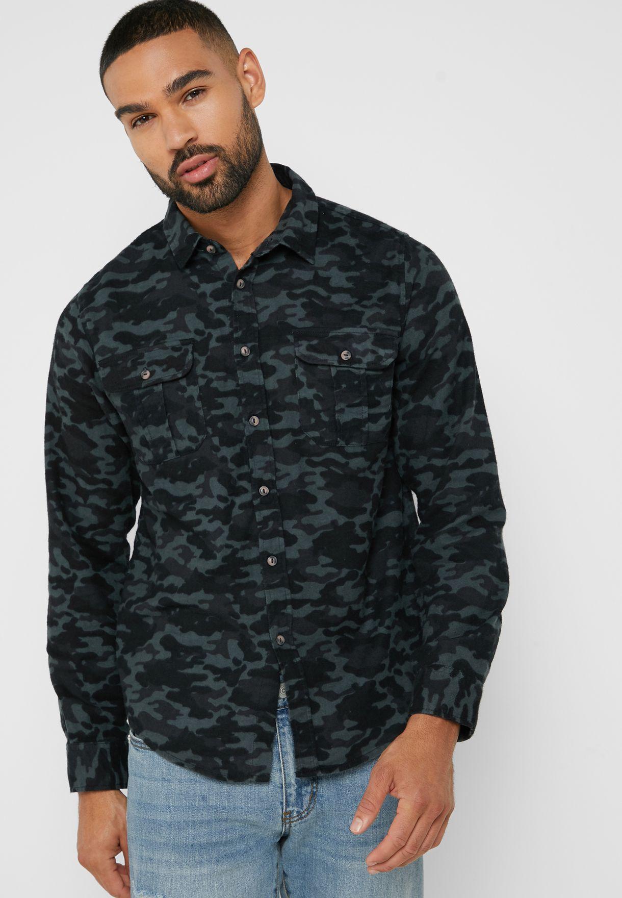Camo Pocket Shirt