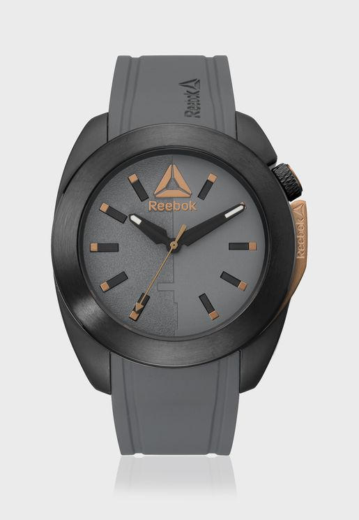 Tire Flip Analog Watch