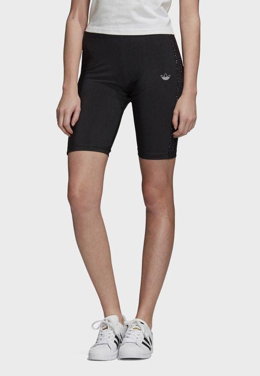 Short Fakten Casual Women's 1/2 Leggings