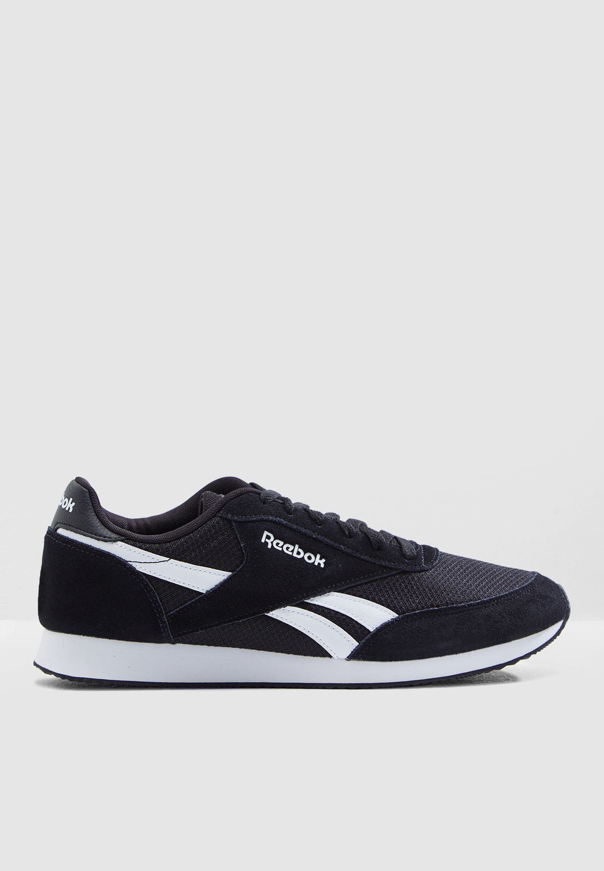 ea2ef816dd53d Shop Reebok black Royal Classic Jogger 2 CN7377 for Men in Saudi ...