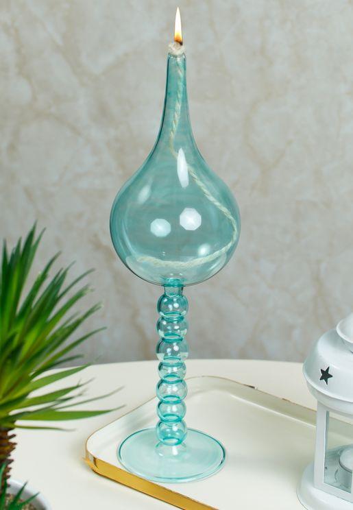 Large Teardrop Oil Lamp
