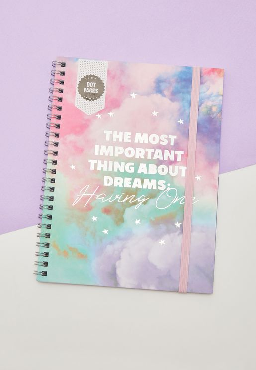 A5 Having Dreams Notebook