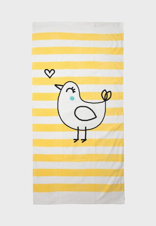 Kids Striped Towel