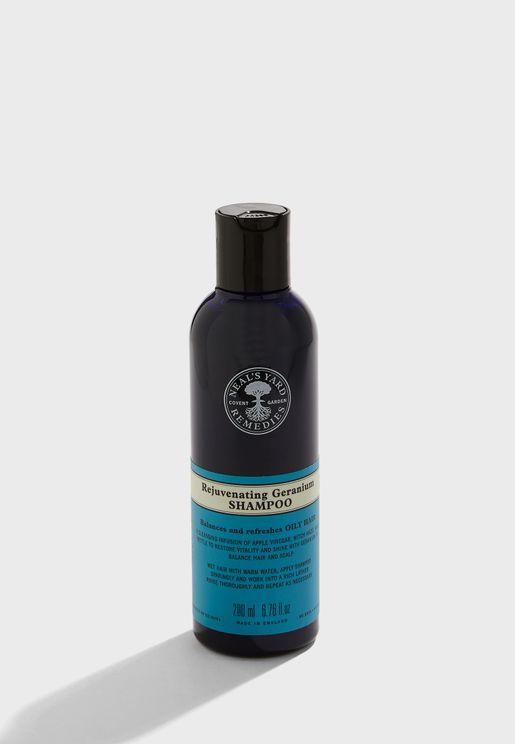 Geranium Balancing Shampoo, 200Ml