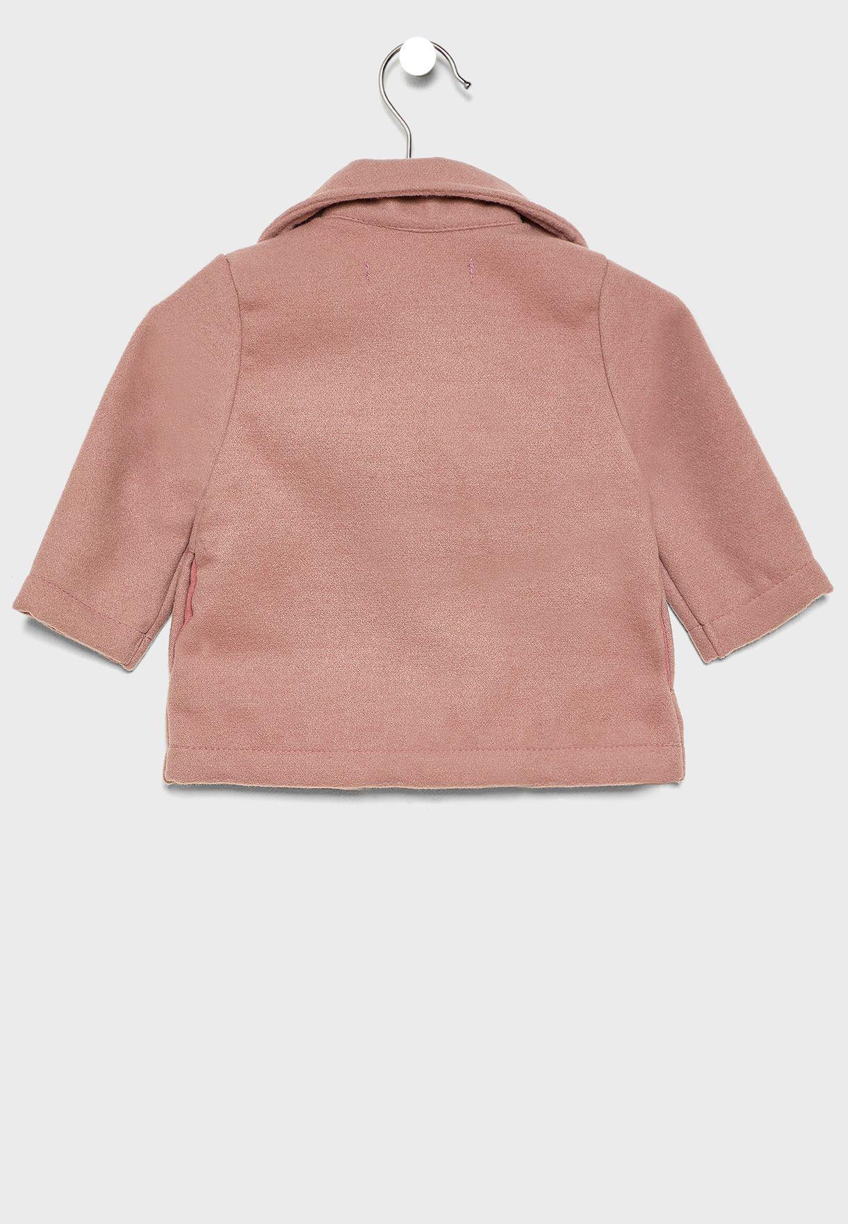 Kids Button Detail Jacket