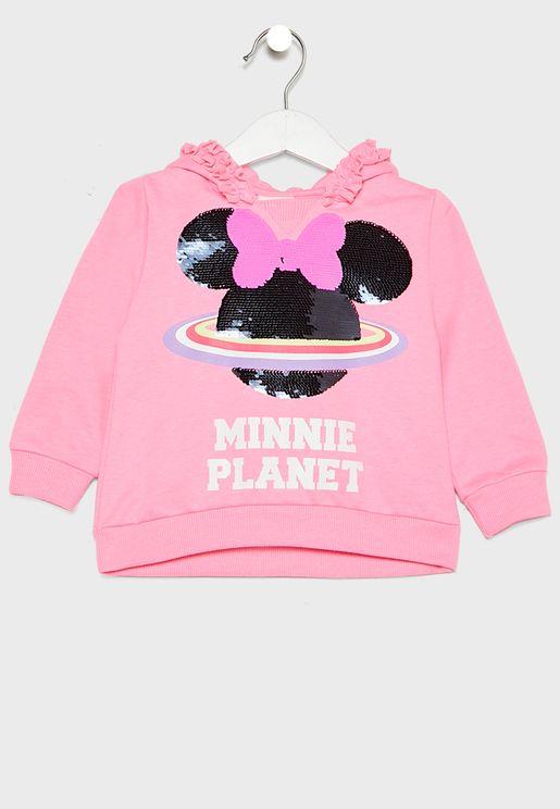 Infant Minnie Planet Hoodie