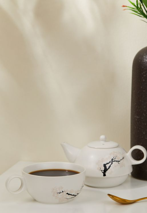 ابريق شاي وكوب