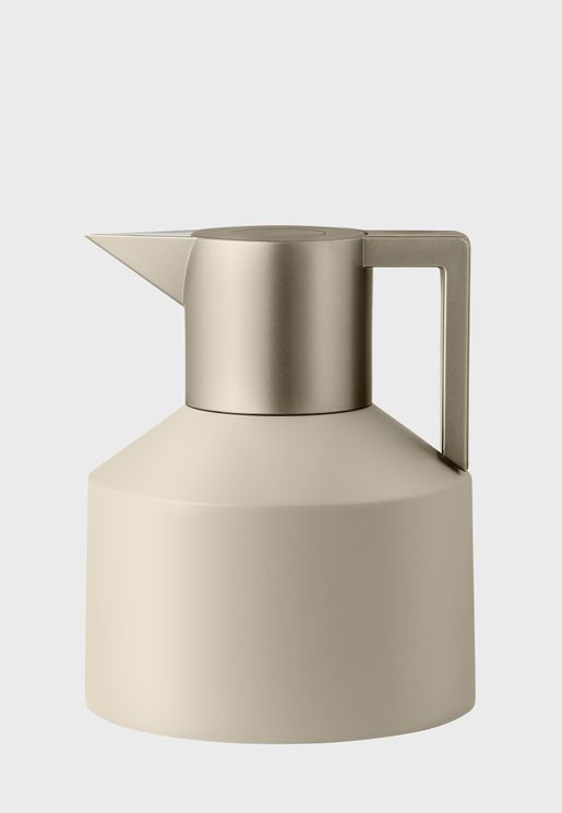 Light Pebble Geo Vacuum Jug 1L