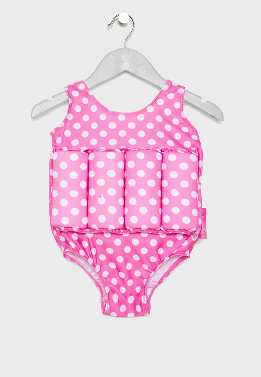 Kids Removable Floats Swimsuit