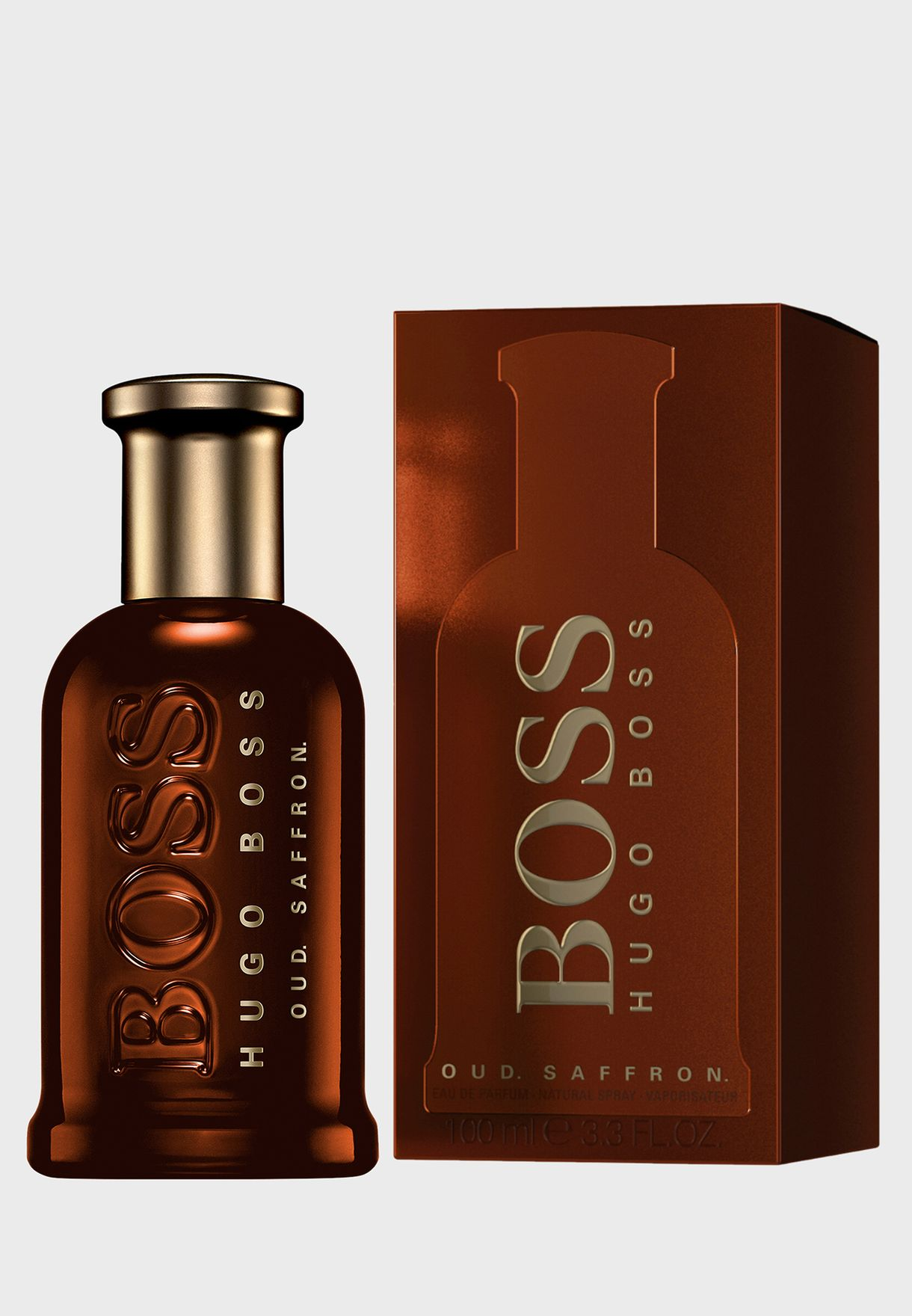 35e0deb9e16 Shop Hugo Boss clear Bottled Oud Saffron 100 ml Edp 3614227592049 ...