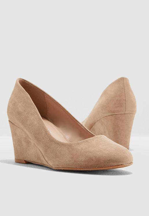 Wide Fit Dreams Court Shoe